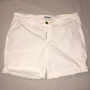 ON White Bermuda shorts